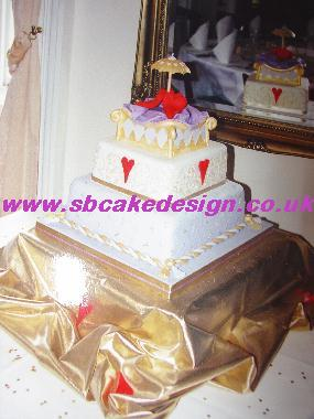 Stacked Wedding Cake10